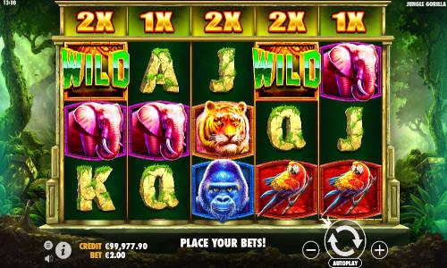 Jungle Gorilla free slot