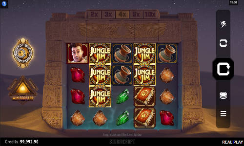 Jungle Jim and the Lost Sphinx free slot