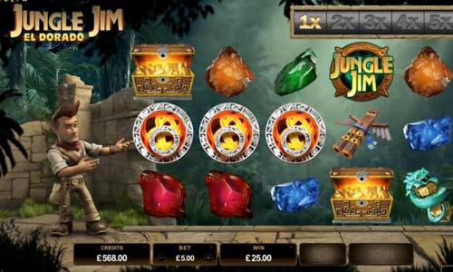 Jungle Jim El Dorado free slot
