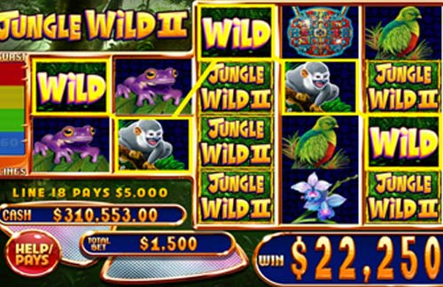 Jungle Wild 2 free slot