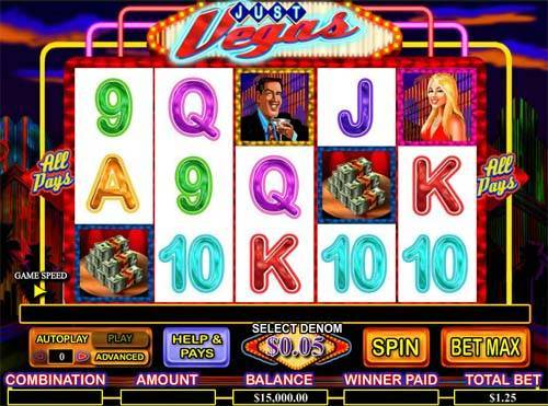 Just Vegas free slot
