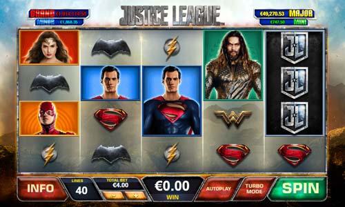 Justice League free slot