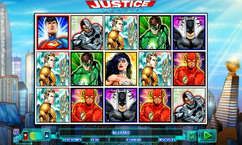 Justice League free slot