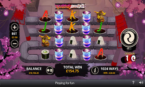 Kanpai Banzai free slot