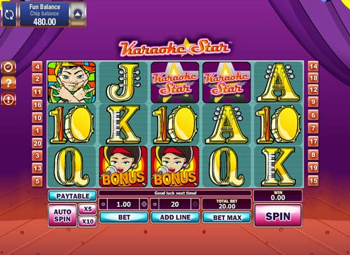 Karaoke Star casino slot