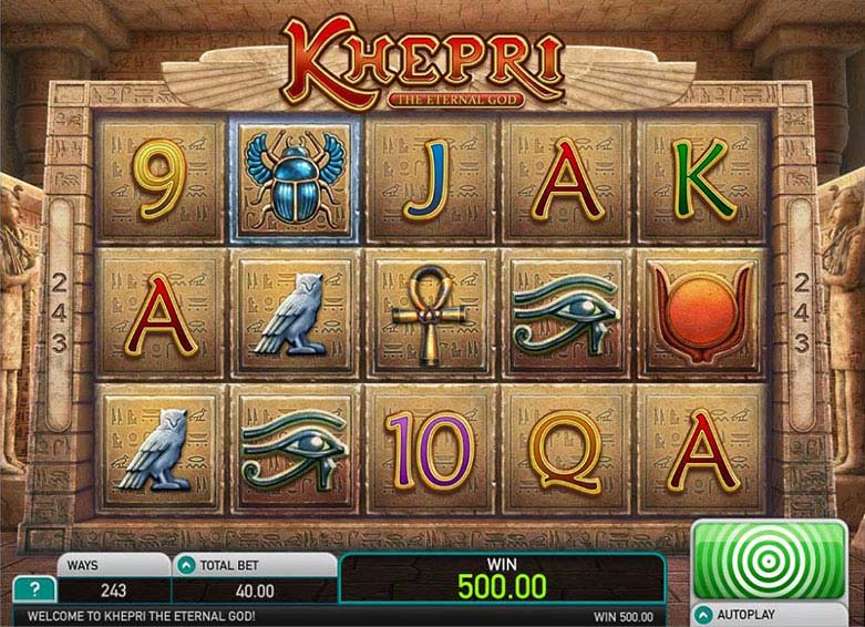 Khepri free slot