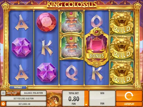 King Colossus free slot