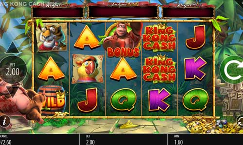 King Kong Cash Jackpot King free slot