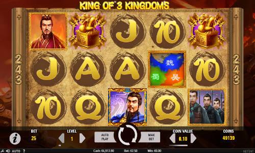 King of 3 Kingdoms free slot