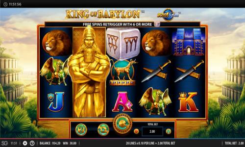 King of Babylon casino slot