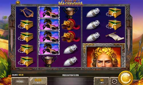 King of Macedonia free slot