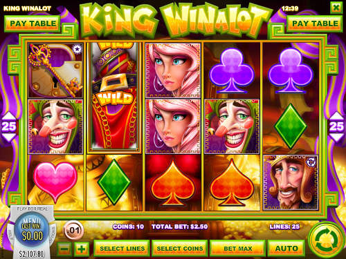 King Winalot free us slot