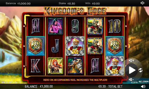 Kingdoms Edge free slot