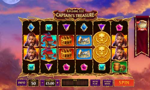 Kingdoms Rise Captains Treasure free slot