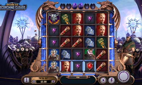 Kingdoms Rise Scorching Cloudsjackpot slot