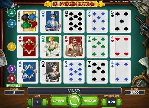 Kings of Chicago free slot