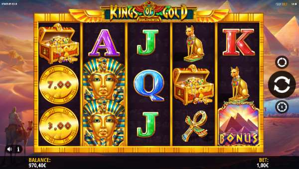 Kings of Gold free slot