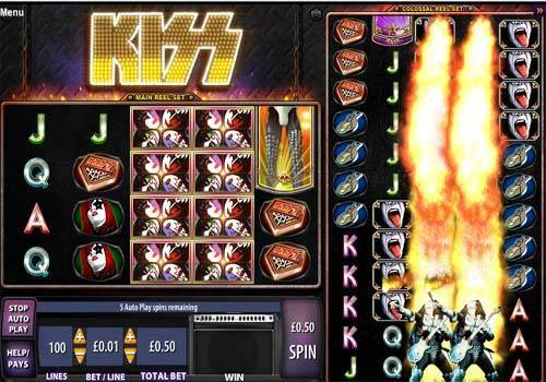 Kiss free slot