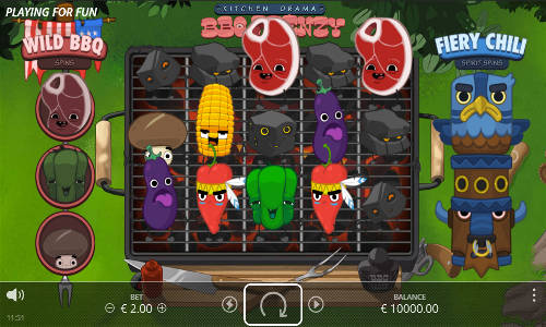 Kitchen Drama BBQ Frenzy free slot