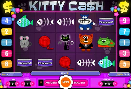 Kitty Cash free slot