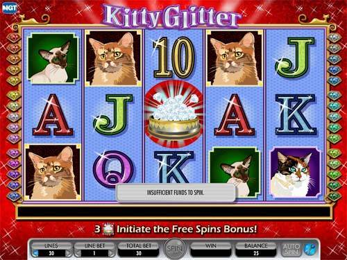 Kitty Glitter free slot