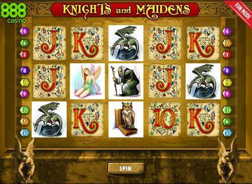 Knights and Maidens casino slot