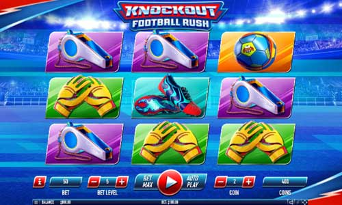 Knockout Football Rush free slot