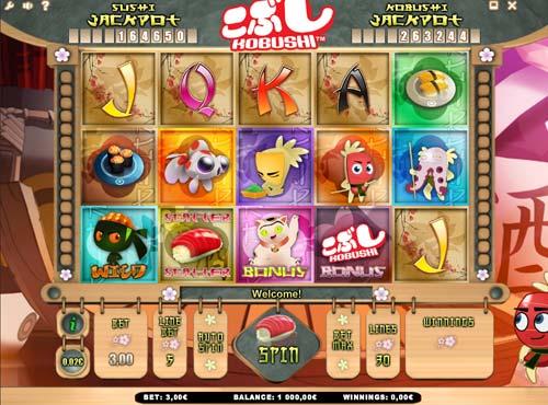 Kobushi free slot