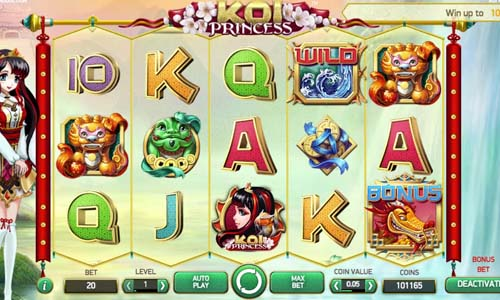 Koi Princess free slot