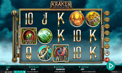 Kraken Conquest free slot