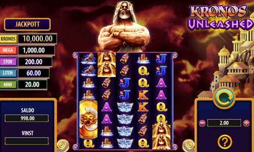 Kronos Unleashed casino slot