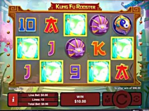 Kung Fu Rooster free slot