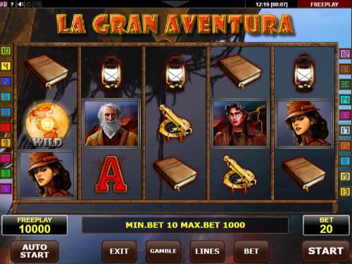 La Gran Aventura free slot