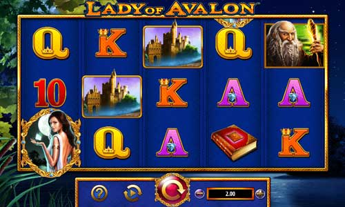 Lady of Avalon casino slot