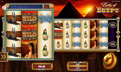 Lady of Egypt free slot