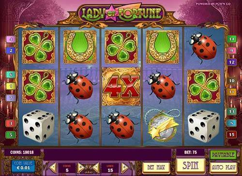 Lady of Fortune free slot