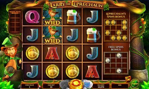 Larry the Leprechaun free slot