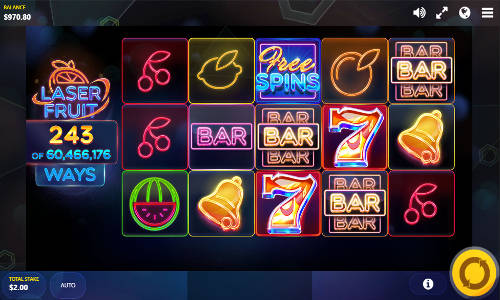 Laser Fruit free slot