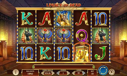 Legacy of Dead free slot