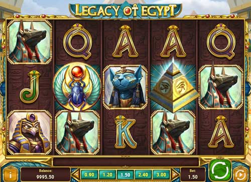 Legacy of Egypt free slot