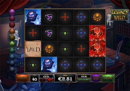 Legacy of the Wild free slot