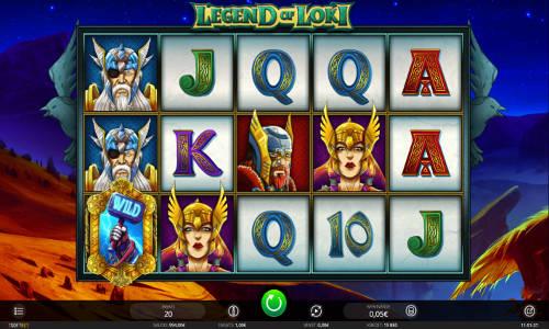 Legend of Loki free slot