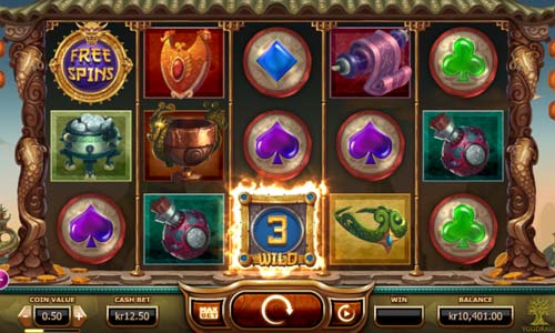 Legend of the Golden Monkey free slot