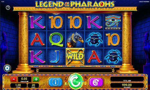 Legend of the Pharaohs free slot