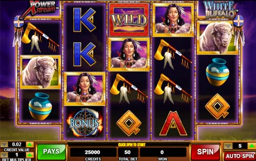 Legend of the White Buffalo slot