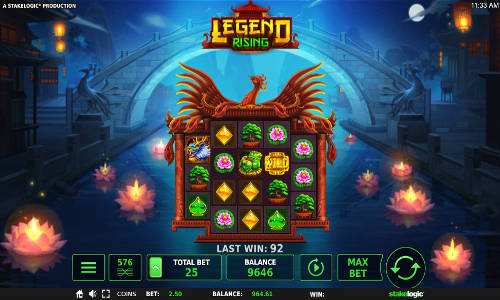 Legend Risingexpanding reels slot