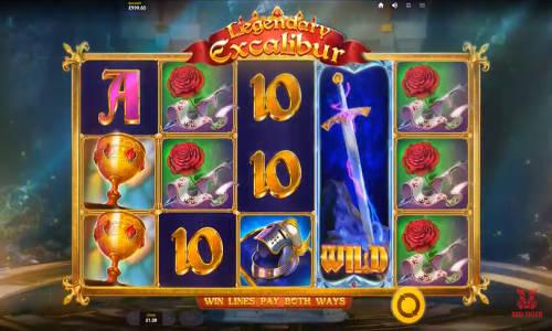 Legendary Excaliburwin both ways slot