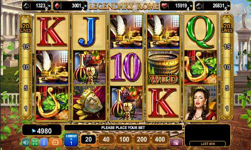 Legendary Rome free slot