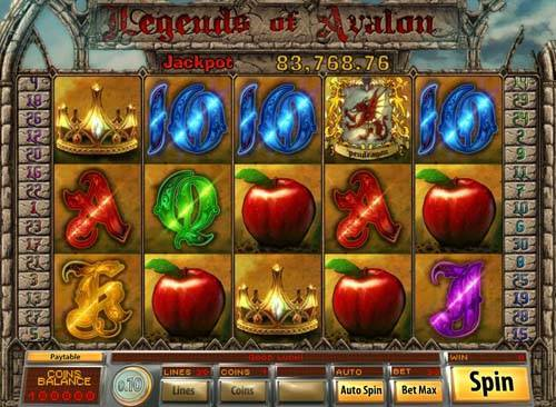 Legends of Avalon free slot