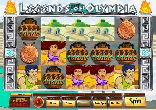 Legends of Olympia free slot